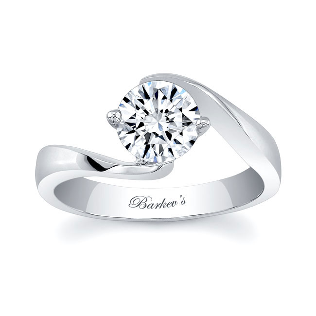 Solitaire Engagement Ring 7499L Image 1