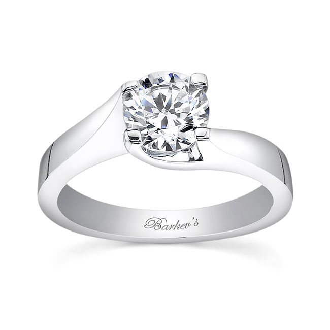 Round Solitaire Engagement Ring 7500L Image 1