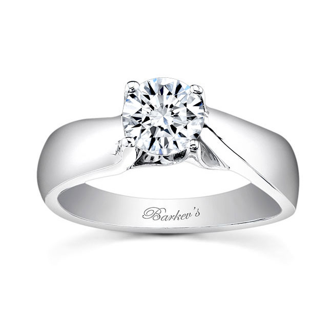 Round Solitaire Engagement Ring 7501L Image 1