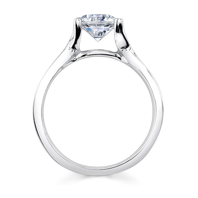 Solitaire Engagement Ring 7504L Image 2