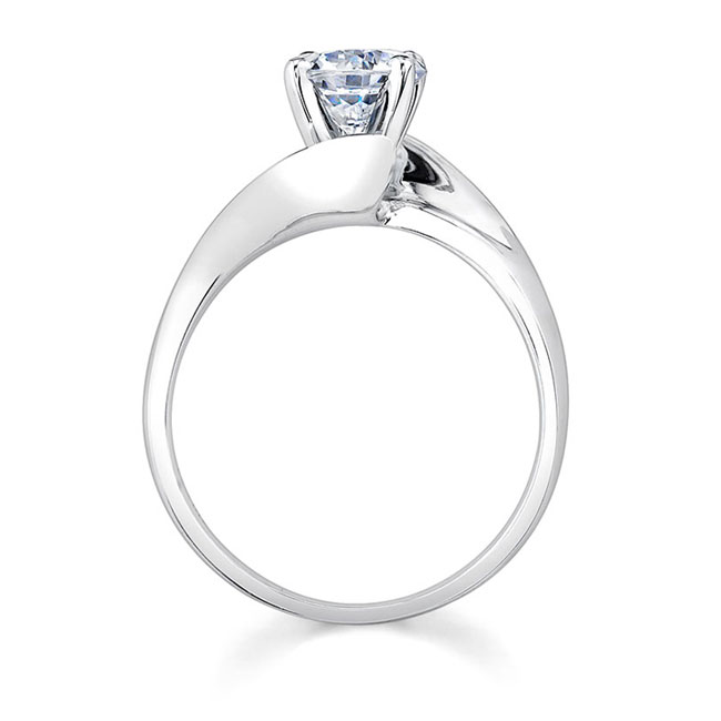 Solitaire Engagement Ring 7517L Image 2