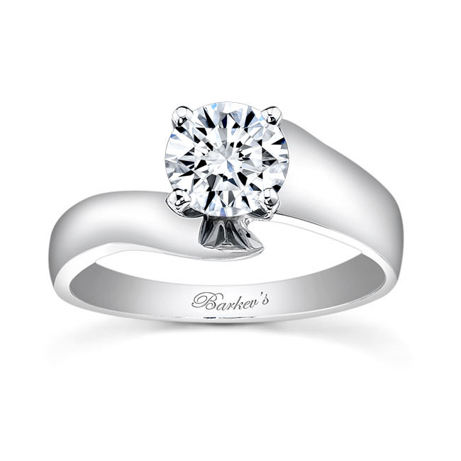 Solitaire Engagement Ring 7517L Image 1