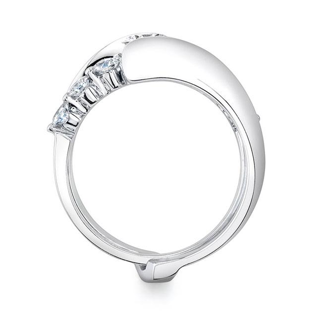 White Gold Diamond Engagement Set 7518S Image 2