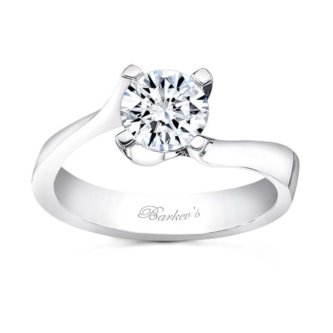Round Solitaire Engagement Ring 7530L Image 1