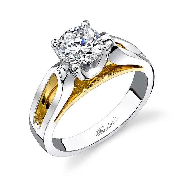 Two tone engagement ring 7599L Image 2