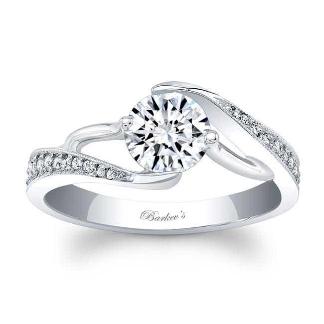 Moissanite Engagement Ring MOI-7605L