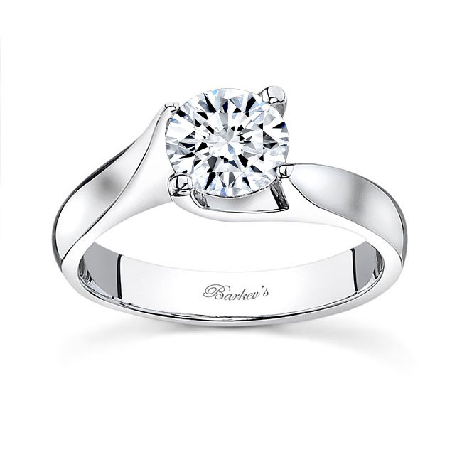 Round Solitaire Engagement Ring 7611L