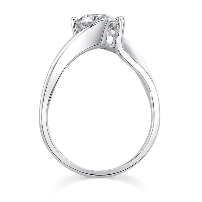 Solitaire Engagement Ring 7623L Image 2