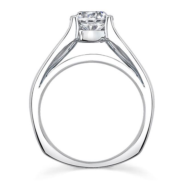 Round Solitaire Engagement Ring 7624L Image 2