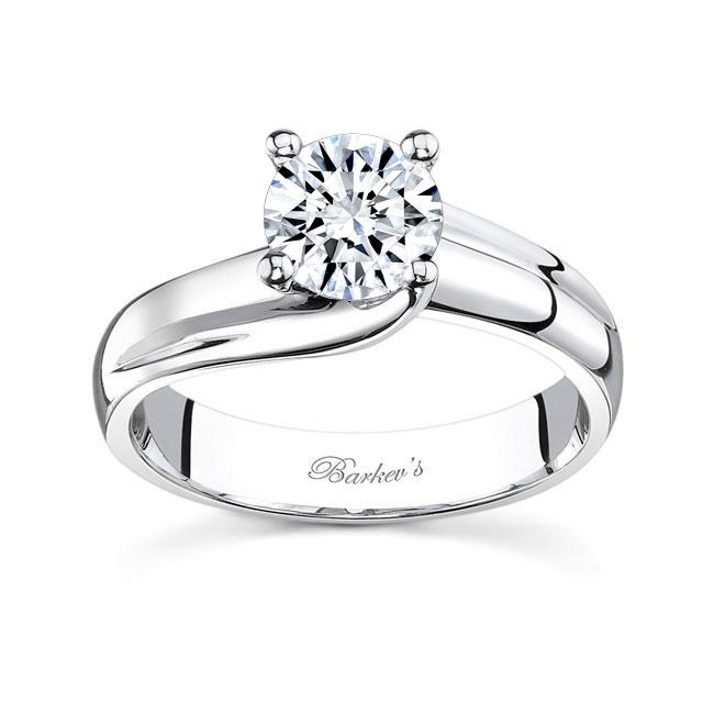 White gold diamond engagement ring 7626L