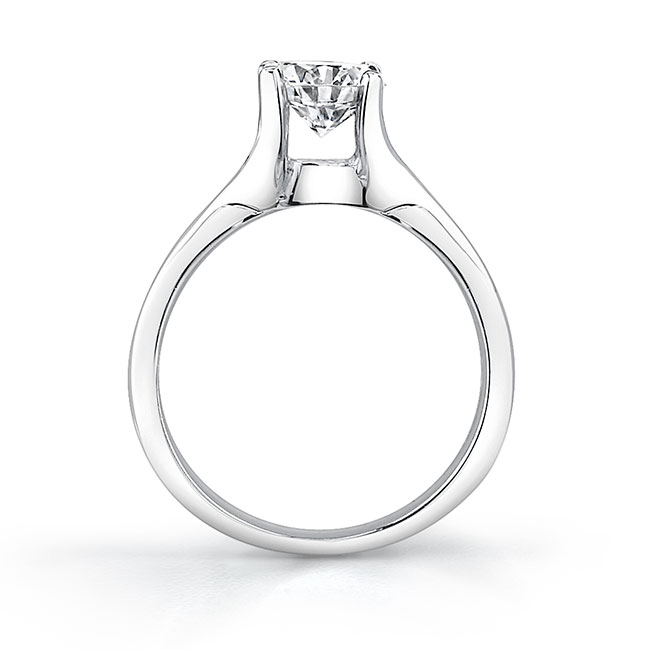 Solitaire Engagement Ring 7688L Image 2