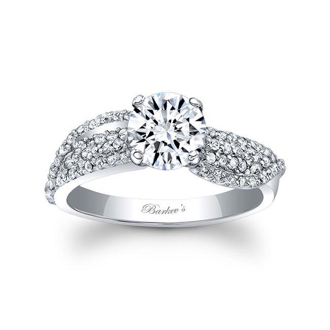 Unique Diamond Engagement Ring 7690L