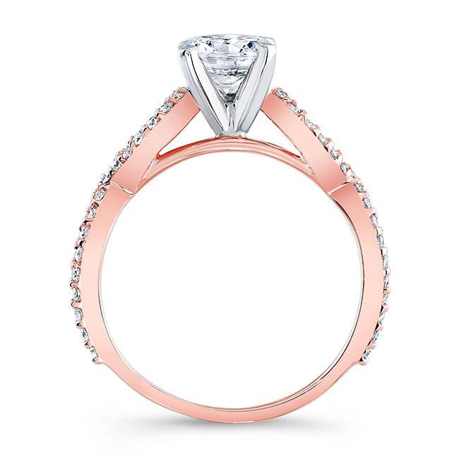 Moissanite Infinity Engagement Ring Image 2