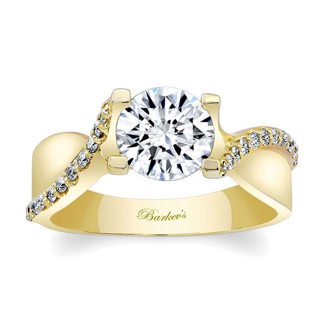 Moissanite Engagement Ring MOI-7725L Image 1