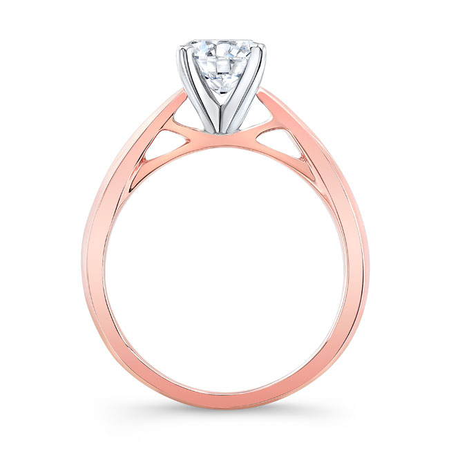 Simple Solitaire Engagement Ring 7731L Image 2