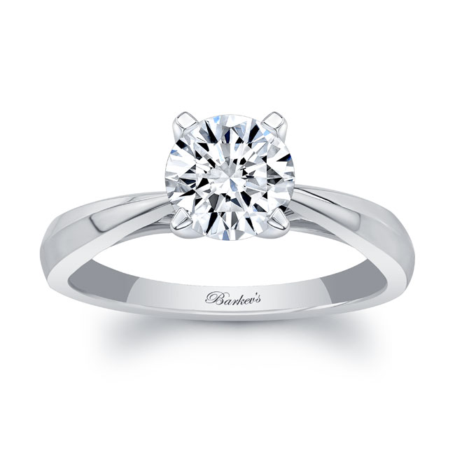 Simple Solitaire Engagement Ring 7731L Image 1