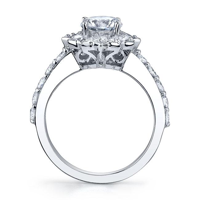 Starnish Halo Engagement Ring 7812L Image 2