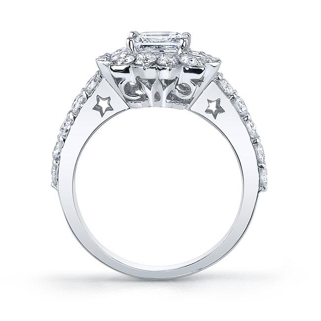Starnish Halo Engagement Ring 7819L Image 2