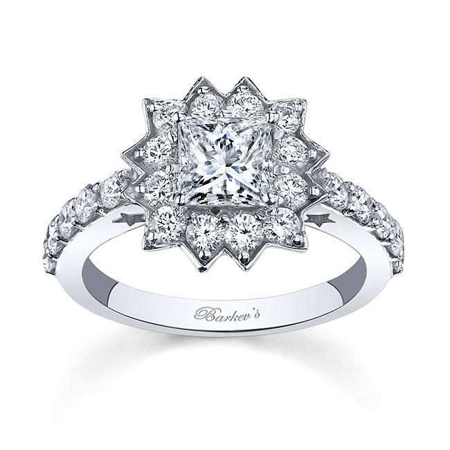 Starnish Halo Engagement Ring 7819L
