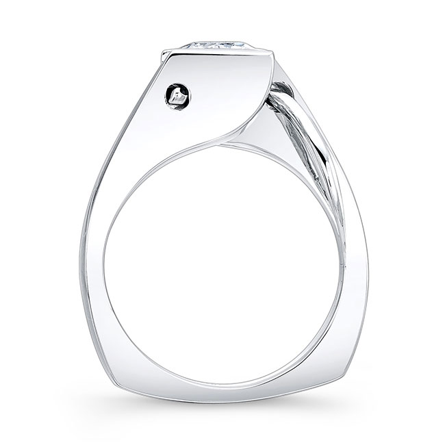 Princess Cut Solitaire Ring 7831L Image 2
