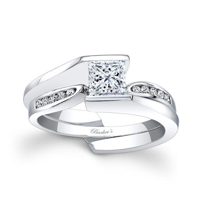 White Gold Diamond Bridal Set 7837S