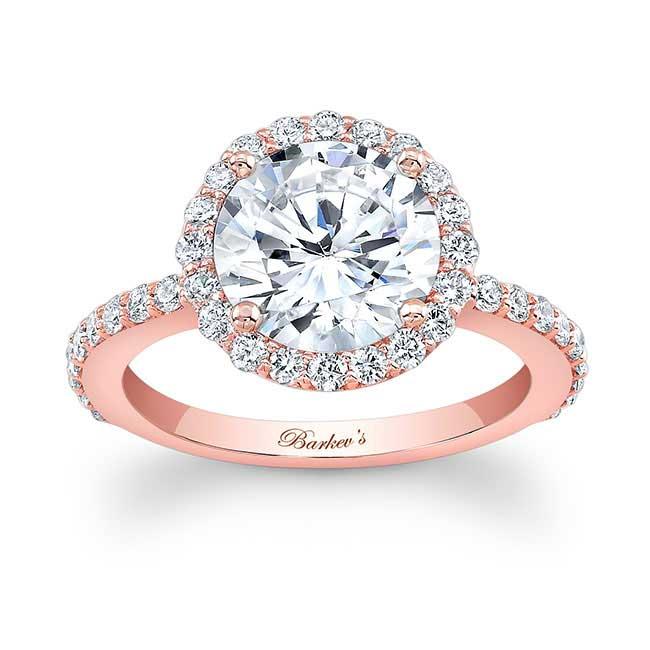 2.00ct. Moissanite White Gold Engagement Ring MOI-7839L