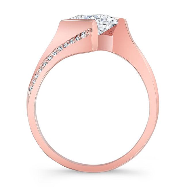 Princess Cut Square Diamond Ring Image 2