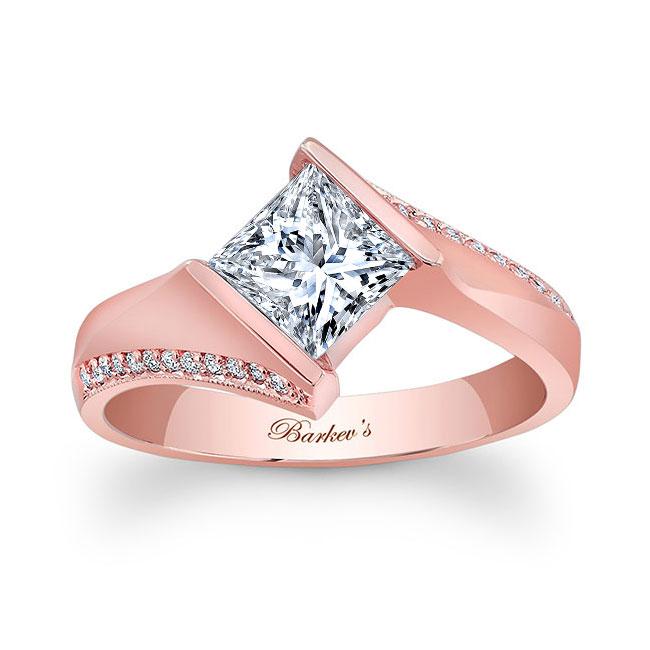 Princess Cut Square Diamond Ring