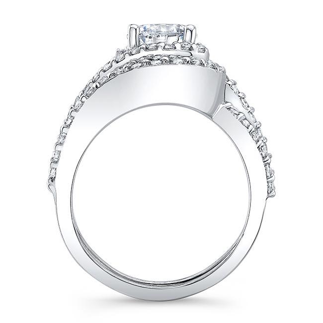 1 Carat Diamond Wedding Set Image 2
