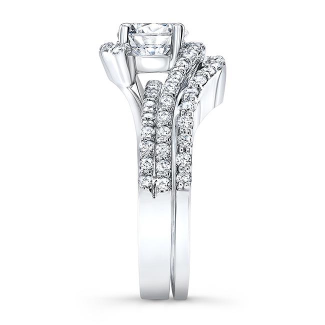 1 Carat Diamond Wedding Set Image 3
