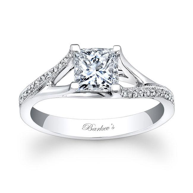 Princess Cut V Shaped Ring