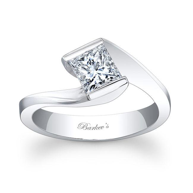Princess Cut Solitaire Ring 7858L