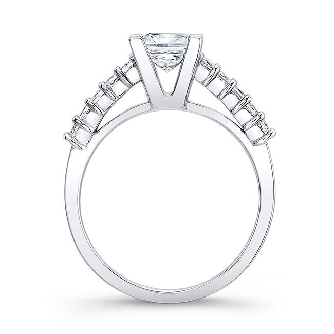 Princess Cut Engagement Ring 7860L Image 2