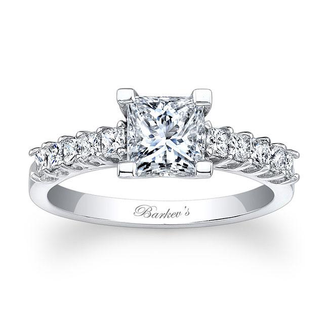 Princess Cut Engagement Ring 7860L