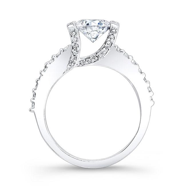 Moissanite Engagement Ring MOI-7867L Image 2