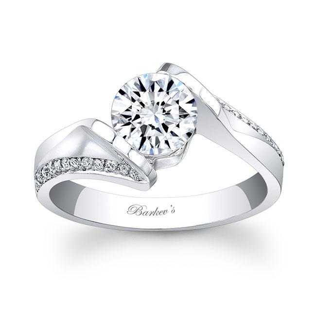 Moissanite Engagement Ring MOI-7868L