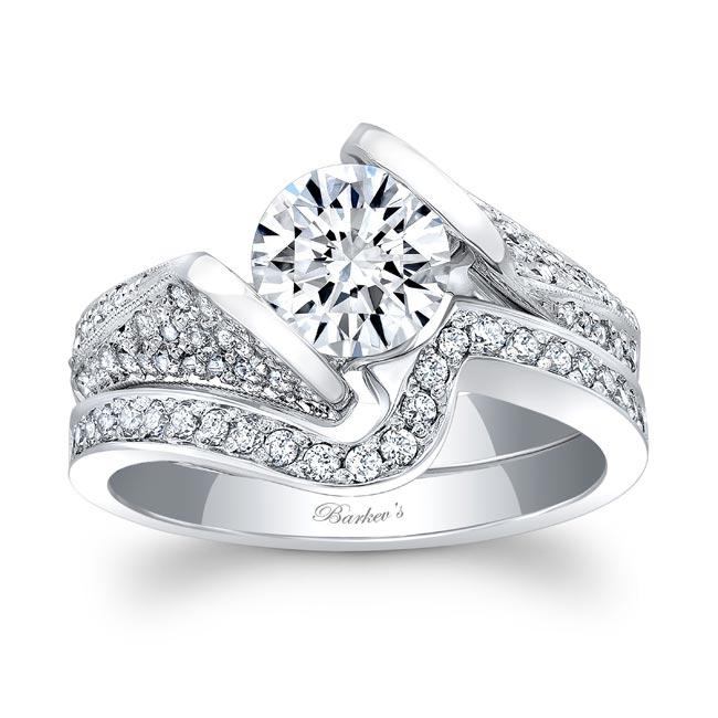 White Gold Diamond Bridal Set 7871S