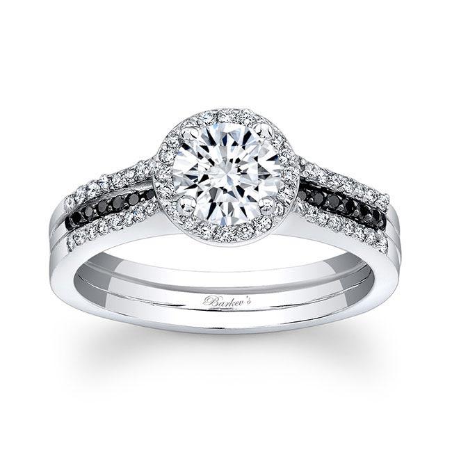 Black Diamond Bridal Set 7875SBK Image 1