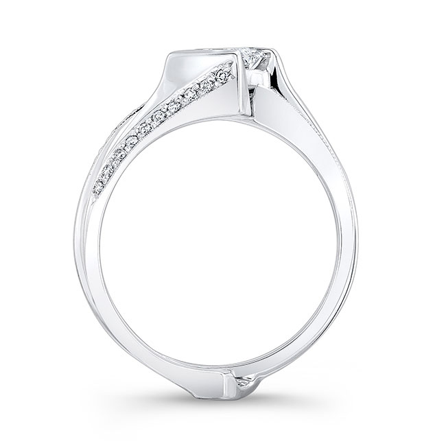 Princess Cut Bridal Set 7880S Image 2