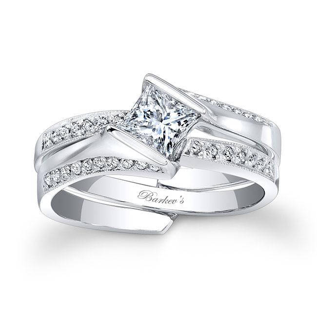 Princess Cut Bridal Set 7880S