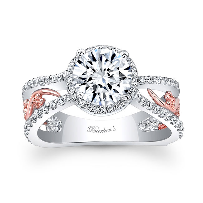 Moissanite Engagement Ring MOI-7885L