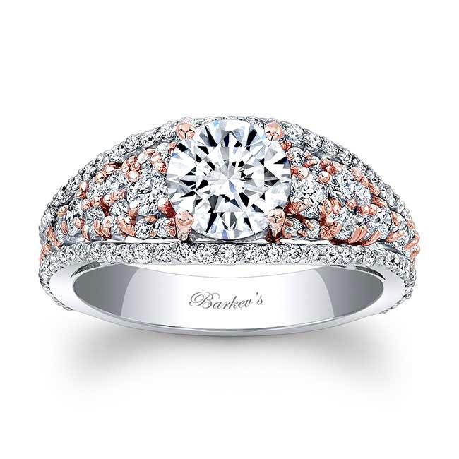 Moissanite Engagement Ring MOI-7892L