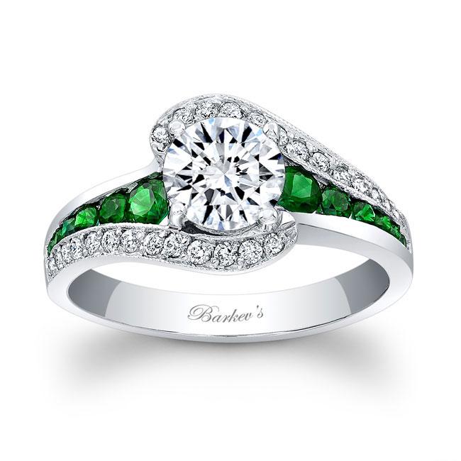 Tsavorite Engagement Ring 7898LTSV Image 1