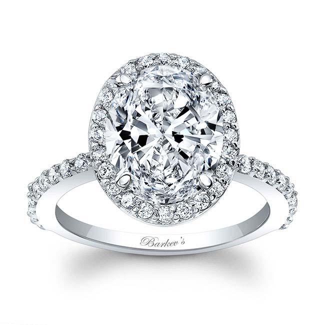 3.5 Carat Oval Diamond Ring