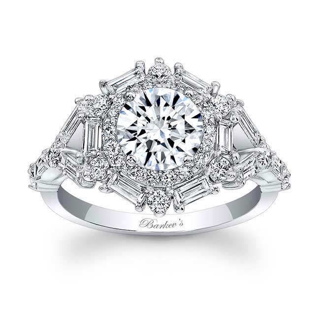 Halo Diamond Engagement Ring 7906L