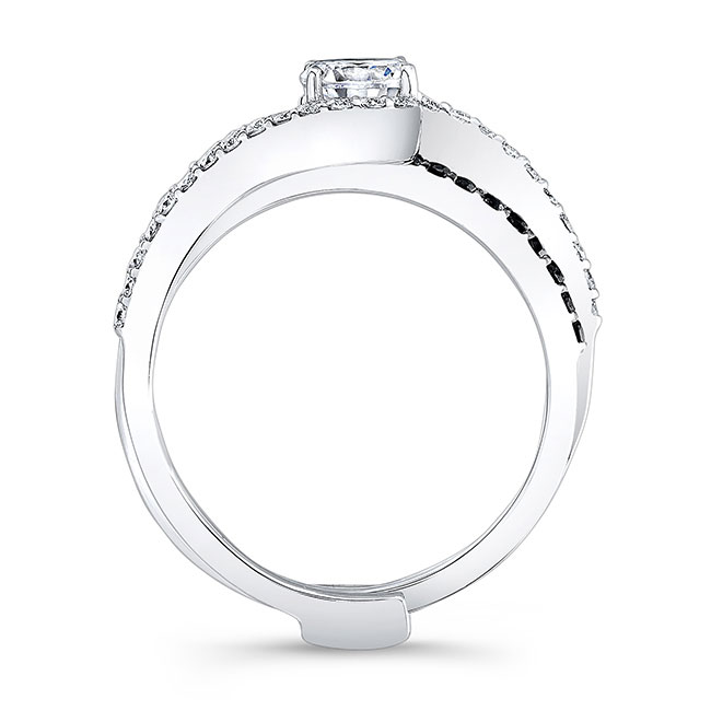 Black Diamond Bridal Set 7907SBK Image 2
