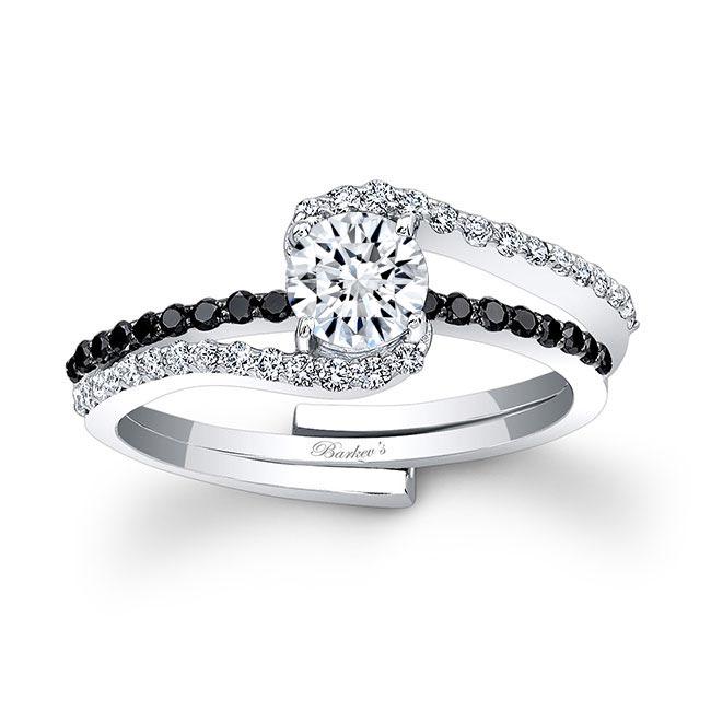 Black Diamond Bridal Set 7907SBK Image 1