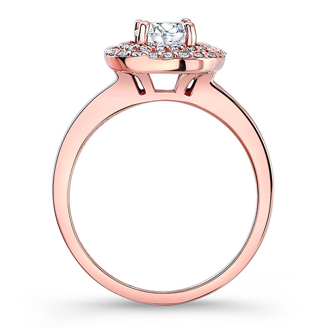 Double Halo Engagement Ring Image 2