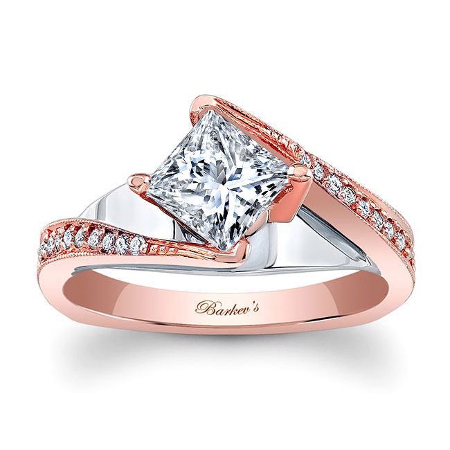 Princess Cut Engagement Ring 7922L Image 1