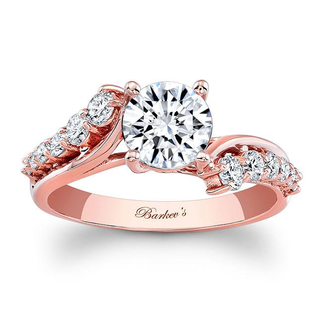Moissanite Engagement Ring MOI-7926L